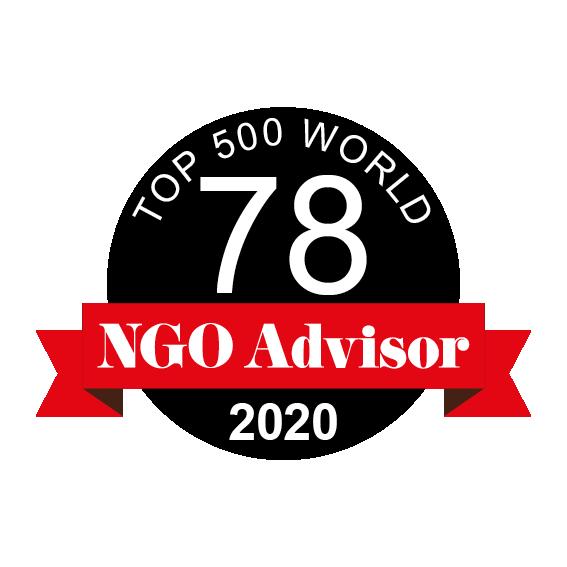 Instituto da Criança (IC) is ranked 78 in TOP 500 World by NGO Advisor