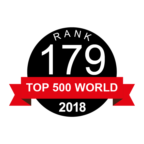 GAME is ranked 179 in TOP 500 World by NGO Advisor