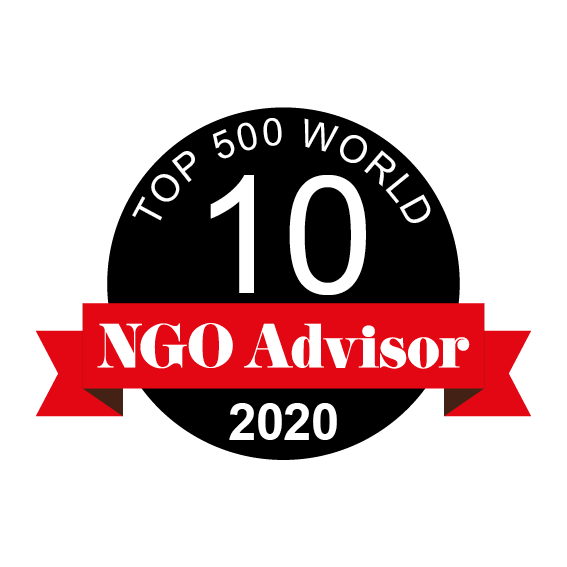 LANDESA is ranked 10 in TOP 500 World by NGO Advisor