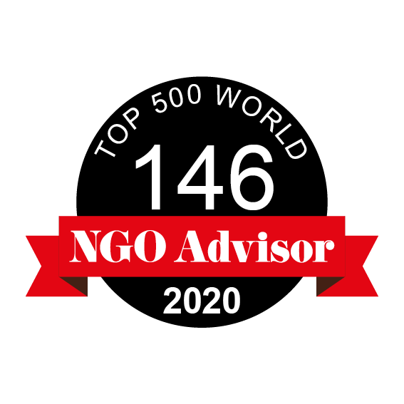 THE WOMANITY FOUNDATION is ranked 146 in TOP 500 World by NGO Advisor