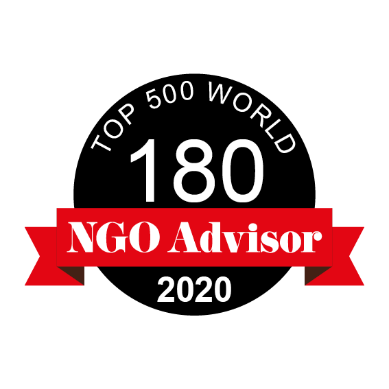 FXB International is ranked 180 in TOP 500 World by NGO Advisor