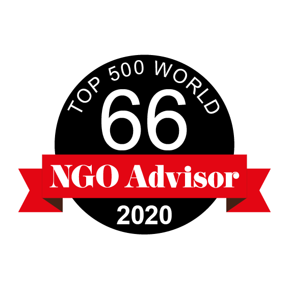 CHILD'S DREAM is ranked 66 in TOP 500 World by NGO Advisor