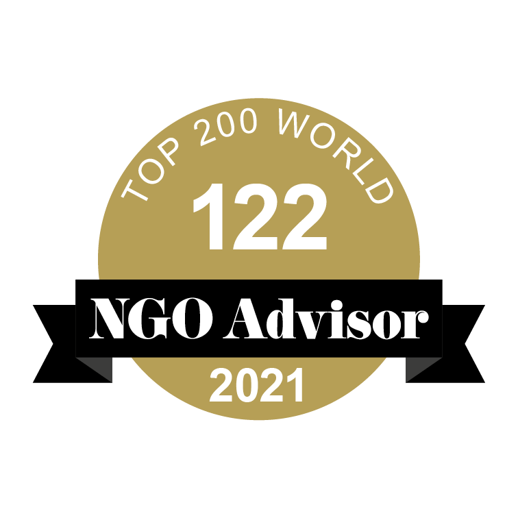 GAME is ranked 122 in TOP 200 World by NGO Advisor