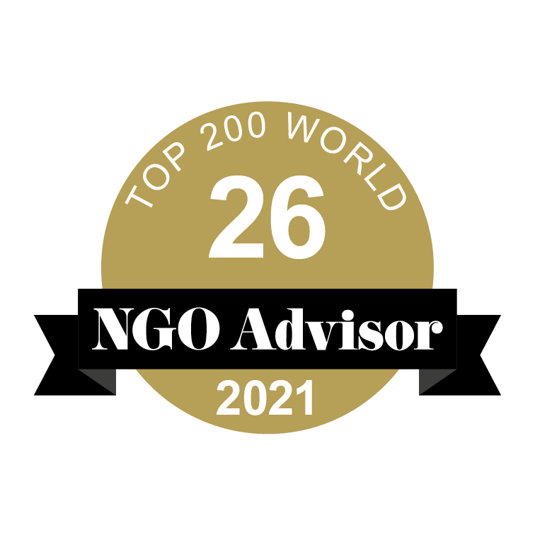 GENERATIONS FOR PEACE is ranked 26 in TOP 200 World by NGO Advisor