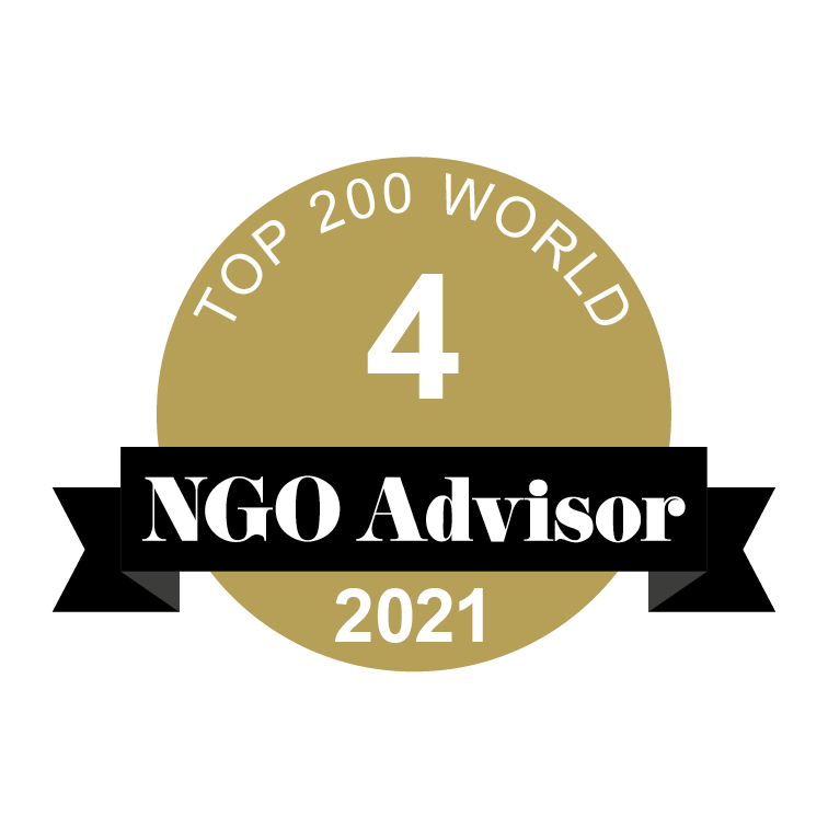 DANISH REFUGEE COUNCIL is ranked 4 in TOP 200 World by NGO Advisor
