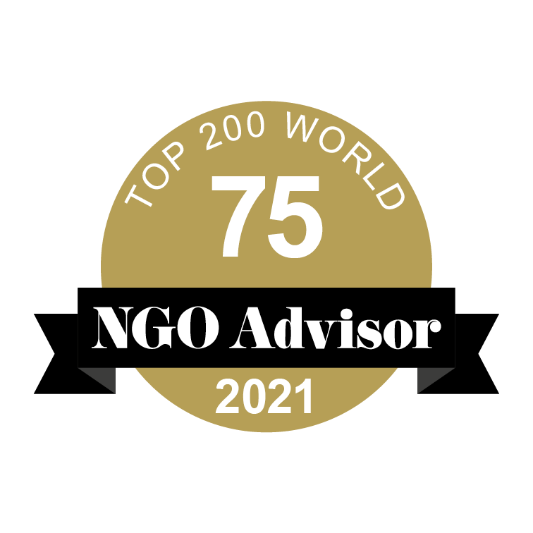 INSTITUTO DA CRIANCA is ranked 75 in TOP 200 World by NGO Advisor
