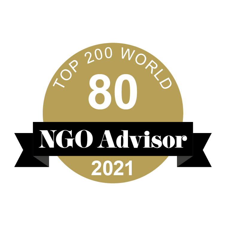 PARTNERS FOR POSSIBILITY is ranked 80 in TOP 200 World by NGO Advisor