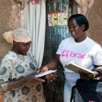 Community Health Promoters in Uganda provide health services, with a particular focus on women and children.