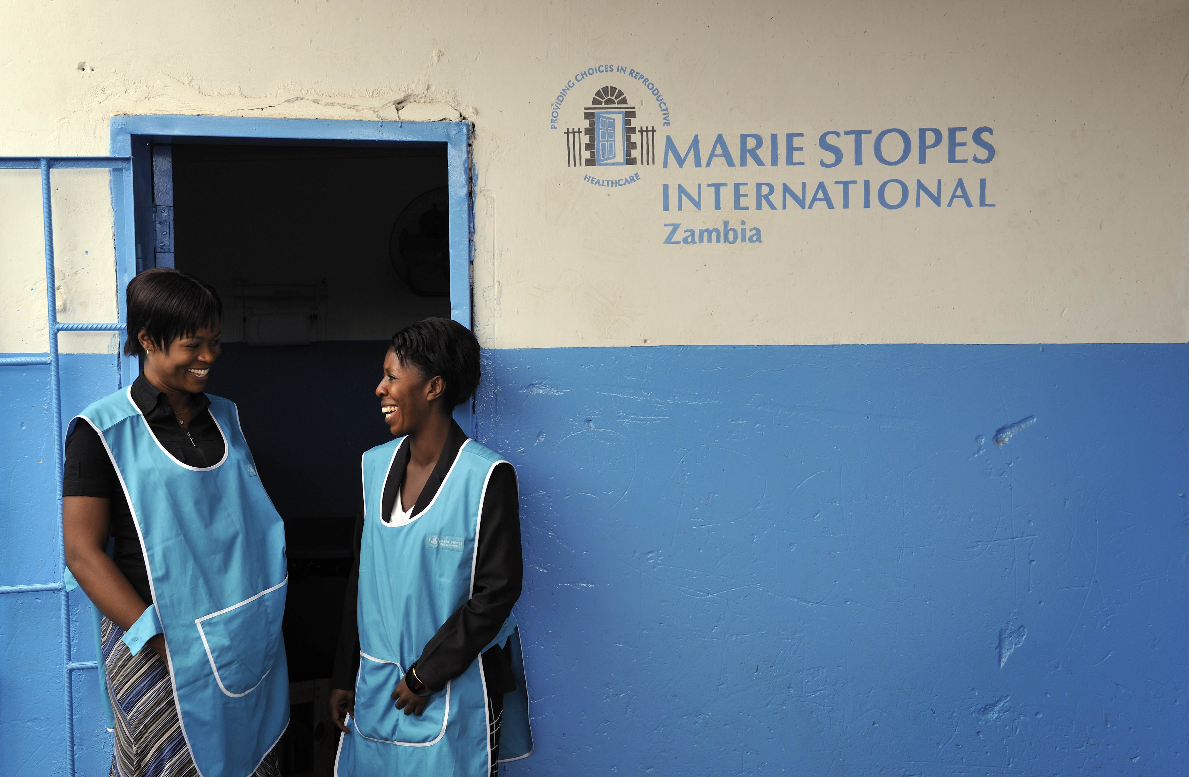 Sede de Marie Stopes Internacional en Zambia
