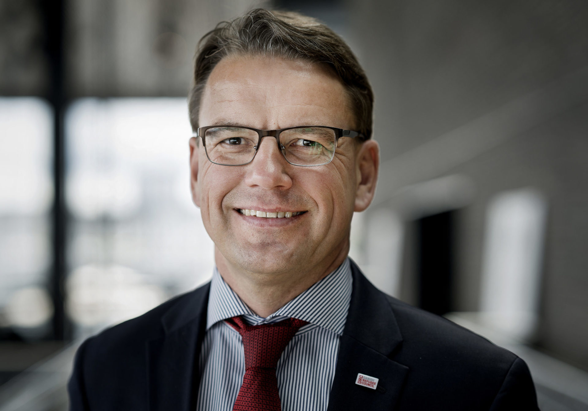 """We took a big leap forward to integrate digitalization: it will save lives and make a difference to people in need,"" says Christian Friis Bach, DRC's top executive."